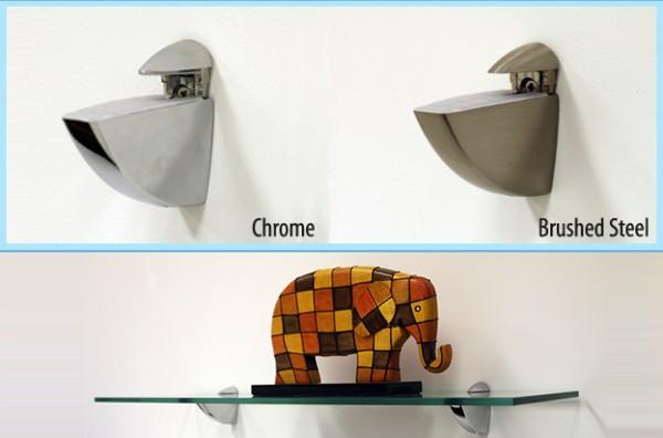 Oriole Shelf Bracket Supports - Glass Shelf Supports