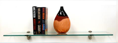 Heron Glass Shelves