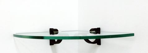 Monarch Corner Glass Shelves